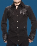 leatherdaggershirtfront